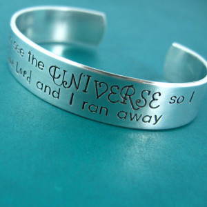 Doctor Who I Stole a Time Lord Cuff Bracelet - Doctor Who quote ...