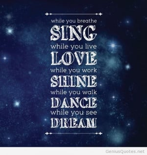 Dreams shine quotes wallpapers