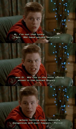 Home Alone - Buzz..
