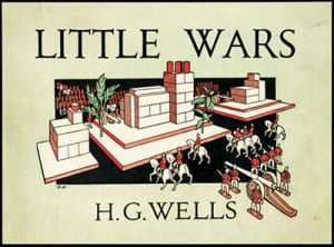 Un nouveau jeu de H. G. Wells, oui oui l'écrivain de SF (1913).