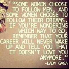 Act Like A Lady, Think Like A Man!