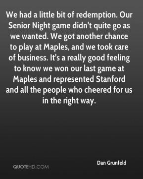 Quote About a Senior Game Night