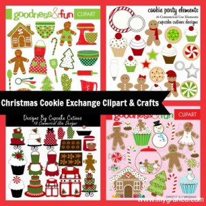 adult christmas clipart