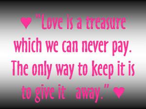 Love Quotes, Romantic Love Poems, Famous Love Messages