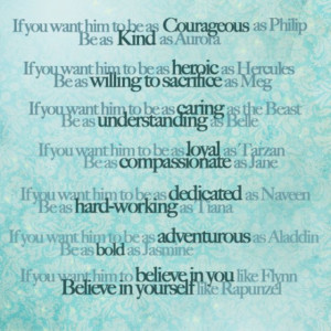 love this! Disney character traits