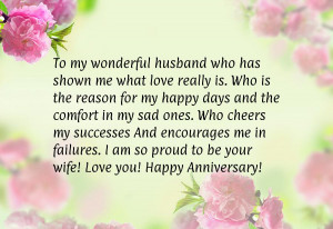 Love quotes anniversary for him