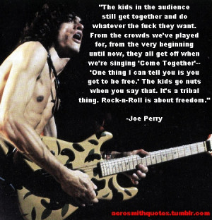 Aerosmith Quotes