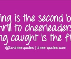 Cheer Quotes Cheer quotes / flying is the