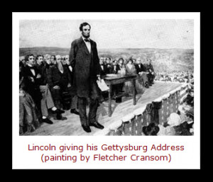 ... their review of this gettysburg speech in the fullness of time they