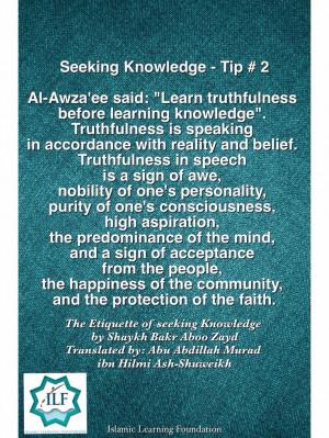 Seeking Knowledge- Tip#2