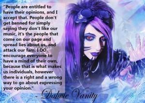 Dahvie Vanity Quotes