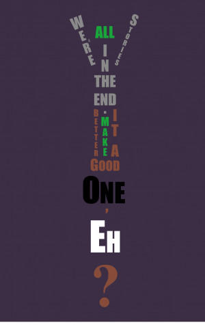 We're All Stories in the End, 11th Doctor Quote by GrimReaper2000000