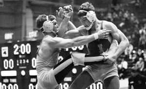 Dan Gable, a wrestling legend with a 181-1 record, was the epitome of ...