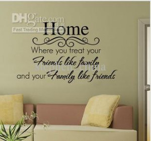 order Wall Quote Decal Nursery Wall Decor Sticker PVC fashionable Wall ...