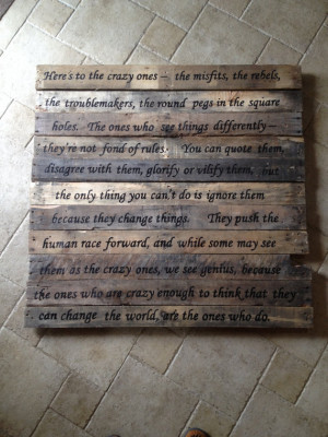 Hand Painted Pallet Signs, Sayings and Quotes