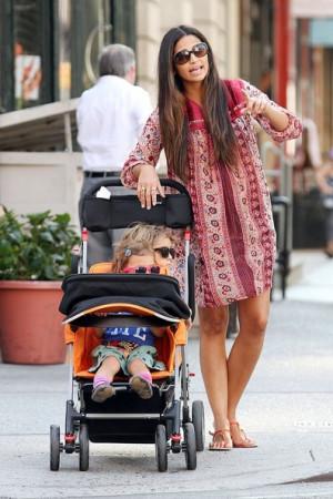 Camila Alves Takes Her Kids