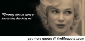 Marilyn Monroe Quotes About Acting