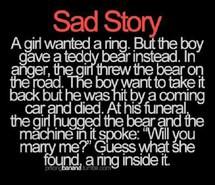 marry, ring, sad story, teddy bears