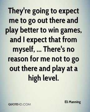 Eli Manning Quotes
