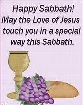 Happy Sabbath Quotes