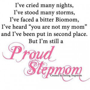 am a proud Mom AND Stepmom!!