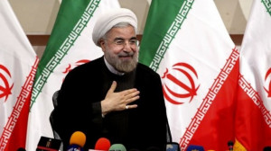 Rouhani said Israel occupies Arab land, but did not urge its removal ...