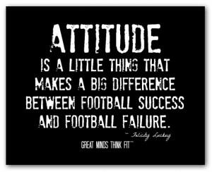 ... between football success and football failure felicity luckey