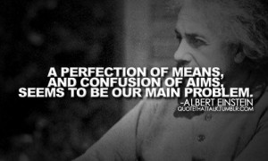 Albert einstein quotes sayings human main problems