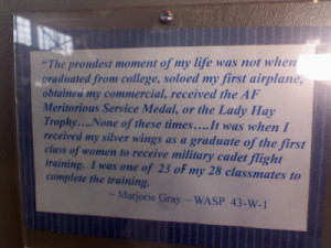 American Airpower Museum, WASPs