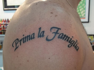 These are the family tattoos sayings about tattoo italian Pictures