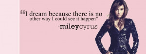Miley Cyrus quote(FB cover) by DarkCityGirl