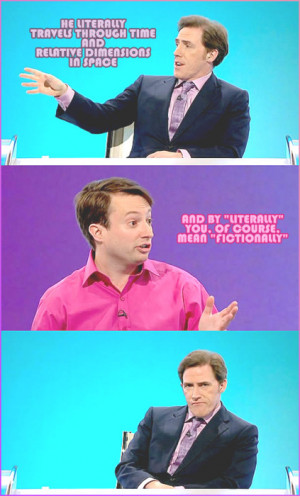 david mitchell rob brydon would i lie to you wilty doctor who funny ...