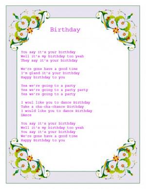 Funny Happy Birthday Songs Happy Birthday Cake Quotes Pictures Meme ...