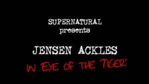Dean Winchester Eye The Tiger