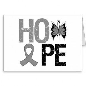 Hope Brain Cancer Awareness Cards