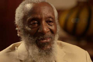 Dick Gregory talks to Ray Suarez