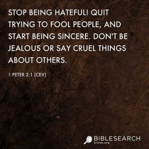 Stop Being Hateful Quit