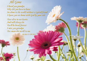 have you seen the passing of a loved one http
