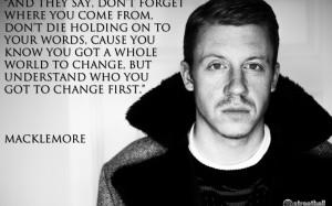 MACKLEMORE ryan lewis rap rapper hip hop text quote jj wallpaper ...