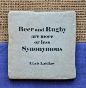 famous rugby quotes coasters by me and my sport ...