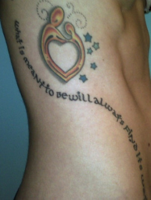 romantic? If you believe in love, then this tattoo quote is for you ...