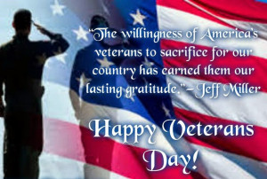 Patriotic Quotes For Veterans Day