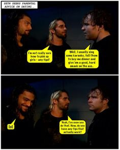 Twitter / forever_ambrose: Randy gets told off.. ...