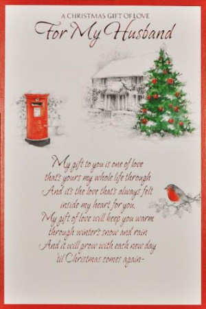 Christmas For Husband Quotes Quotesgram