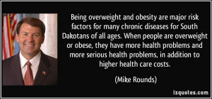Being overweight and obesity are major risk factors for many chronic ...
