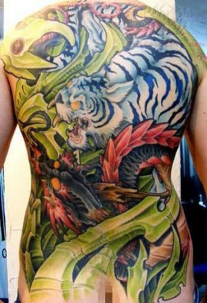Pin Japanese Tiger Tattoo Inside Arm Gangster Quotes Cake