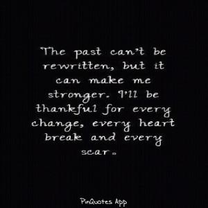 Past, pain, love