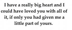 Big Heart Quotes Tumblr