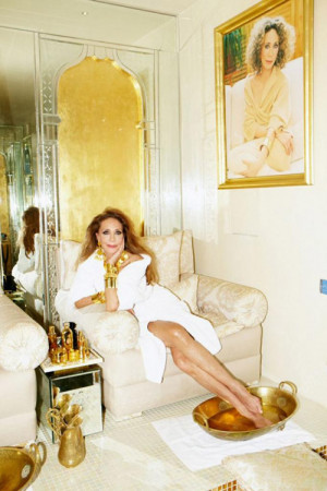 think it was that quote that made me more in awe of Marisa Berenson ...