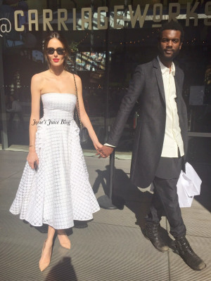And Gary Clark Jr Out Together In This Photo Nicole Trunfio Gary Clark